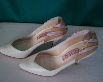 Connie Shoes made in Brazil Vintage