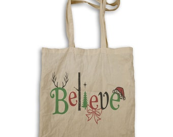 Believe and You can Achieve t Tote bag v967r