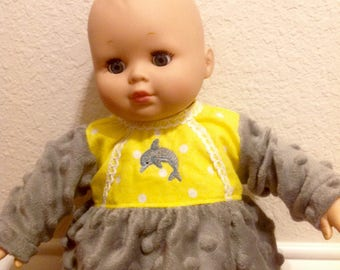 Bitty Baby or any 14-16 inch Baby Doll Pajamas