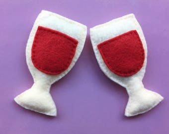 Organic Catnip Wine toys (Set of 2)