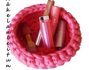 Crochet Zpagetti basket / punnets eBook, crochet pattern basket, crochet eBook PDF