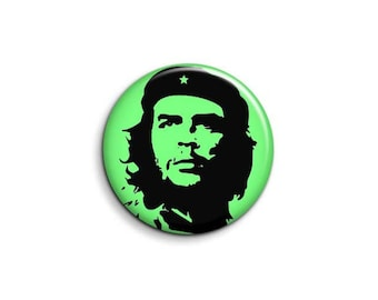 Che Guevara 1077 - pinback button or magnet 1.5 Inch