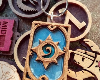 Hearthstone keychain
