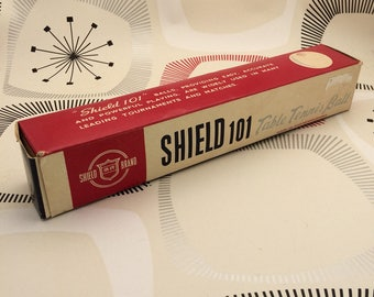 Vintage Shield 101 Table Tennis Balls