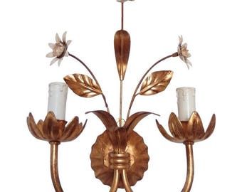 French Wall Light Sconce in the Style of Mainson Bagués