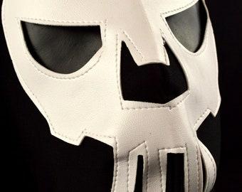 PUNISHER Adult Mask Mexican Wrestling Mask Lucha Libre Luchador Costume Wrestler