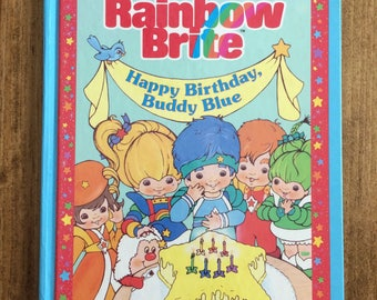 Vintage 1984 Rainbow Brite Book