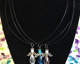 Angel Bead Pendant Necklace