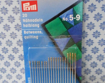 Quilting Needles Set of 20