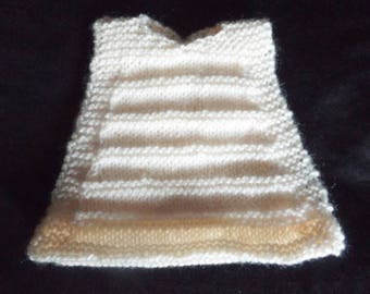 """6"""" Bantam Chicken Sweater, Sweaters for Chickens, Sweaters for Ex Battery Hens, Featherless Chickens, machine washable"""