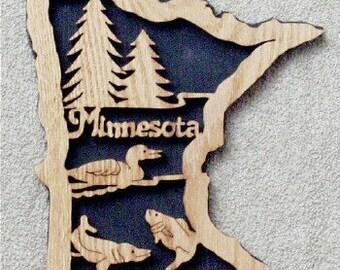 Minnesota State Plaque