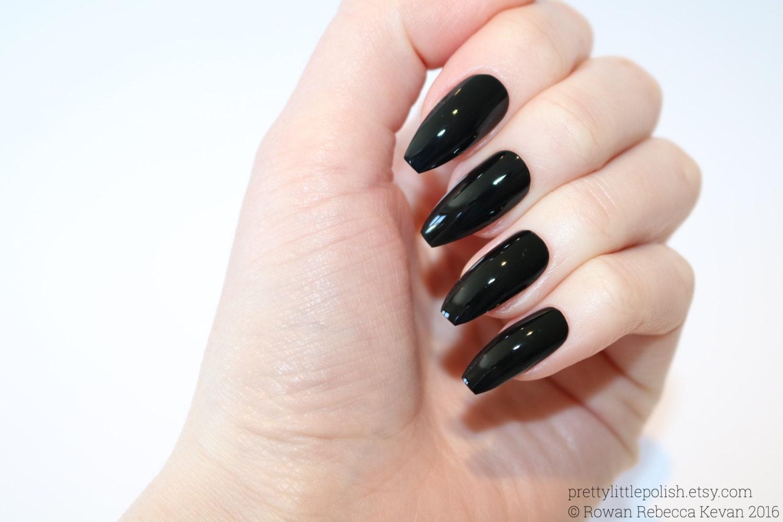 Black coffin nails nail designs nail art nails stiletto zoom voltagebd Gallery