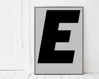 large letters to print