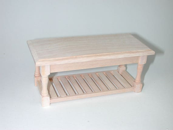 Table rustic with board, for the doll parlour, the doll's House, Dollhouse miniatures, cribs, miniatures, Model Building # v 23174
