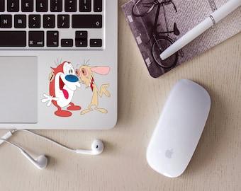 Ren and Stimpy locker/laptop sticker