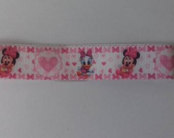 Grosgrain Minnie and daisy Baby Ribbon