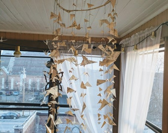 Hanging Sheet Music Paper Craft Mobile