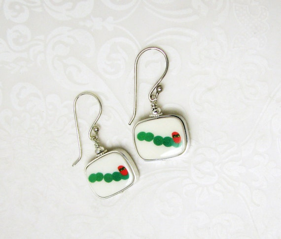 Photo Charm Earrings made with a Child's Artwork - FC5RFlE
