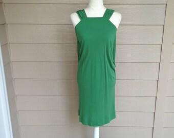 Gorgeous Green Jersey Dress