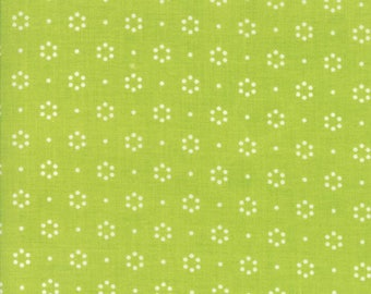 The Good Life - Dot Green by Bonnie and Camille for Moda, 1/2 yard, 55152 14