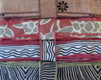 12 Yards of Silk Trim, 4 colors, C94
