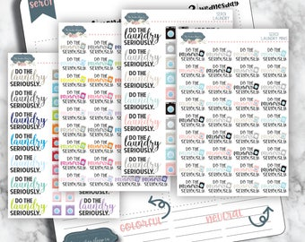SER01 | Laundry [Planner Stickers Seriously edition]