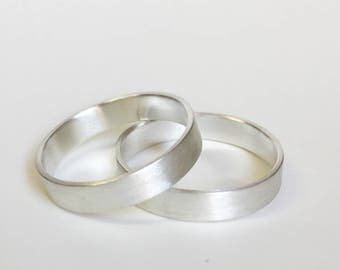Minimalist Wedding Bands