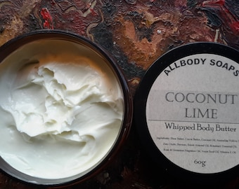 Coconut Lime Whipped Body Butter