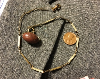Football Pocket Watch chain
