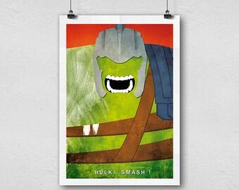 Hulk Thor Ragnarok print