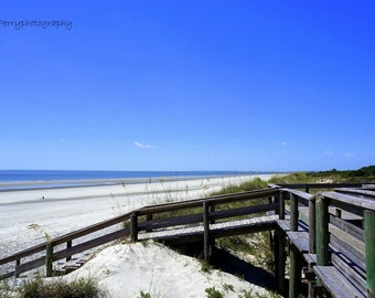 Sapelo Island Beach Photographic Print