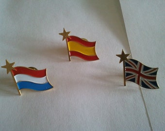 flags - flags pins badges