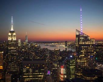 New York City Skyline Digital Download
