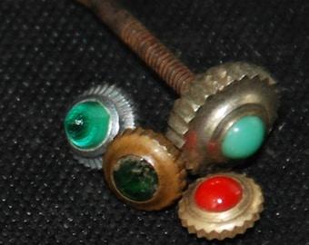 Assorted Watch pocket watch crowns Steampunk watch Parts Vintage Antique  BG 59