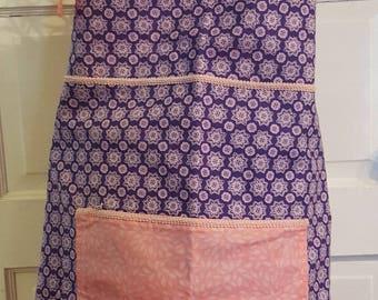 Apron - Pink & Purple