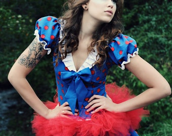Hip hugger mini micro red tutu skirt Adult tween teen dance costume bridal --You Choose size -- Sisters of the moon