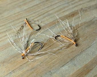 Partridge and Orange (3 flies)