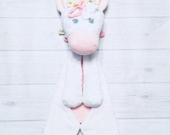 Handmade Unicorn Lovey