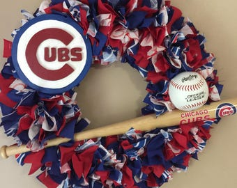 Chicago Cubs wreath