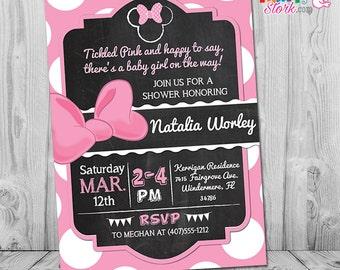Girl monkey baby shower invitation printable pink baby filmwisefo