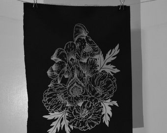 Flowers Back Patch