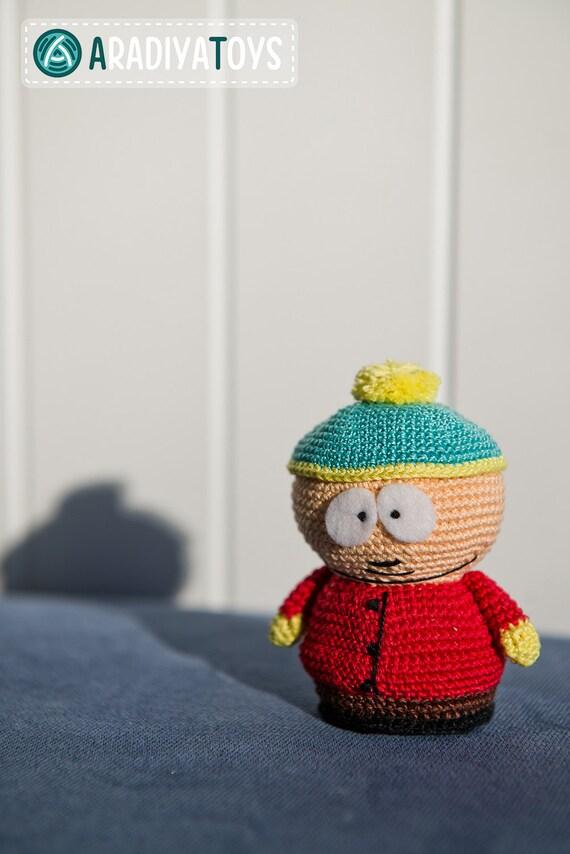 "Häkelanleitung für Eric Cartman aus ""South Park"" (Amigurumi PDF ..."