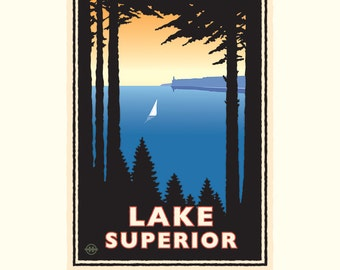 Landmark MN   Lake Superior North Shore by Mark Herman