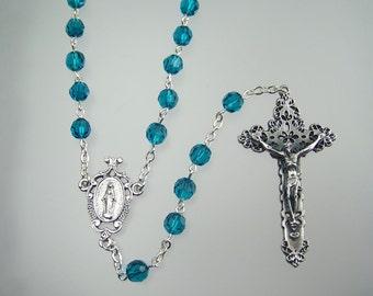 Swarovski December Birthstone Rosary