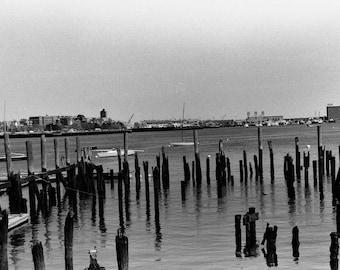 Boston Waterfront print