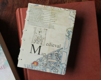 Handmade Artists book, Book Art, literary gift, handmade book, handbound book, coptic stitch book, art gift, original gift, book gift