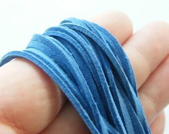 1 Blue velvet cord 4 meter