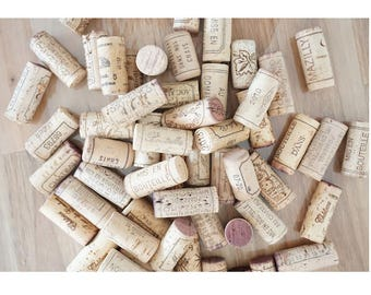 LOT corks from various wine Cork only