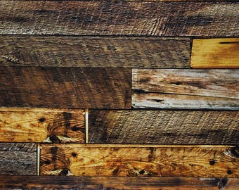 Authentic Reclaimed Wood Wall Vinyl