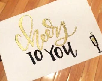 Custom Embossed Greeting Cards